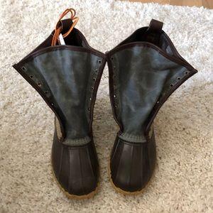 """0bd90d2955a02 L.L. Bean Shoes - L.L.Bean Signature 10"""" Waxed Canvas Bean Boots"""